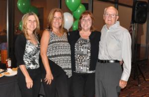 Pictured left to right: Sandi, Sherri, Terri and Wayne