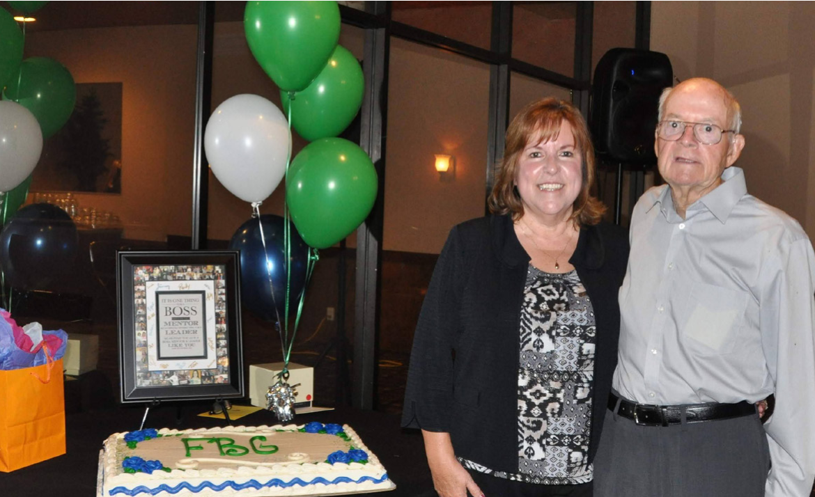 Terri and Wayne Celebrate Terri's 40th Anniversary with FBG
