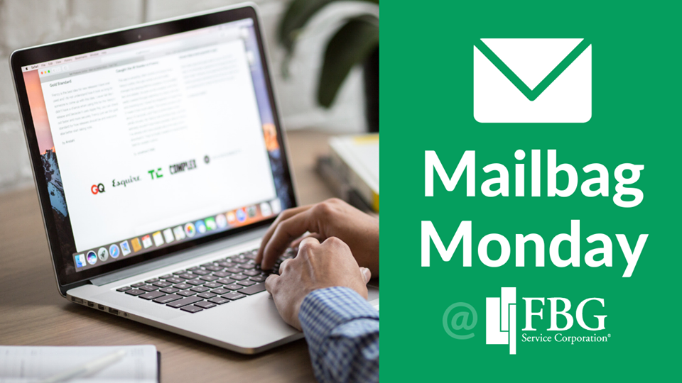 Mailbag Monday graphic